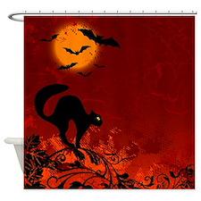 Decorative - Halloween - Art Shower Curtain