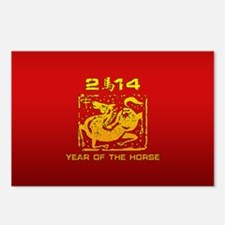 Year of The Zodiac Horse 2014 Postcards (Package o