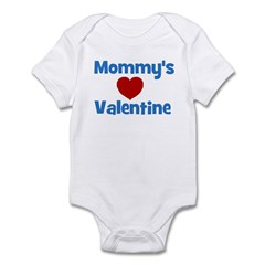 Mommy's Valentine - Red Heart Infant Bodysuit
