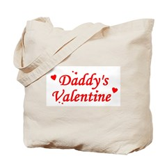 Daddy's Valentine Tote Bag