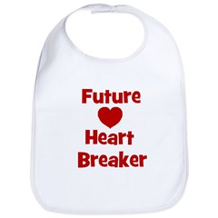 Future Heart Breaker Bib