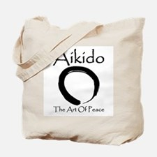 Aikido Art Of Peace Tote Bag