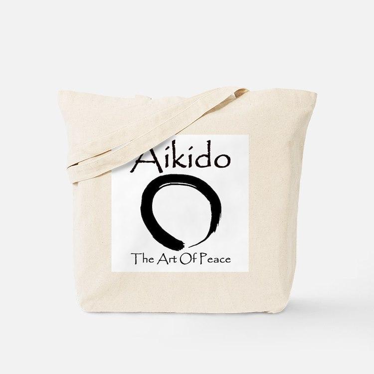 Aikido Art Of Peace Tote Bag