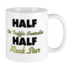 Half Air Traffic Controller Half Rock Star Mugs