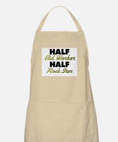 Half Aid Worker Half Rock Star Apron