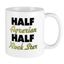 Half Agrarian Half Rock Star Mugs
