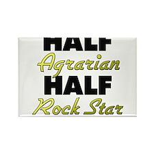 Half Agrarian Half Rock Star Magnets