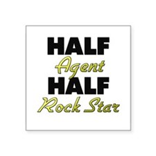 Half Agent Half Rock Star Sticker