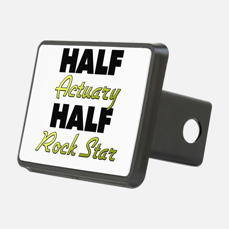 Half Actuary Half Rock Star Hitch Cover