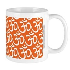 Yog Ohm Symbol Orange Mugs