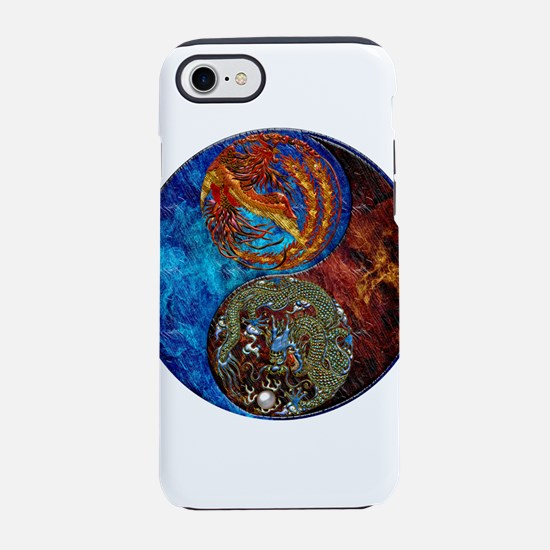 Harvest Moons Firebird Dragon iPhone 7 Tough Case