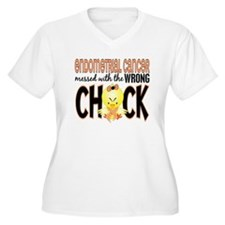 Endometrial Cancer Messed With Wrong Chick T-Shirt