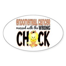 Endometrial Cancer Messed With Wrong Chick Decal