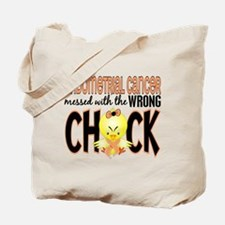 Endometrial Cancer Messed With Wrong Chick Tote Ba