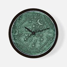Original Meter Cover Wall Clock