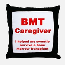 BMT Caregiver Throw Pillow