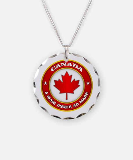 Canada Medallion Necklace