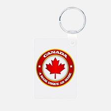 Canada Medallion Keychains