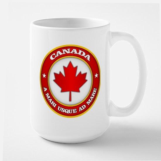 Canada Medallion Mugs