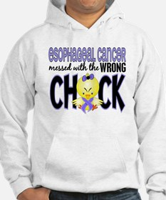 Esophageal Cancer Messed With Wrong Chick Hoodie