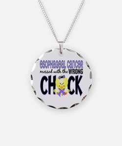 Esophageal Cancer Messed With Wrong Chick Necklace