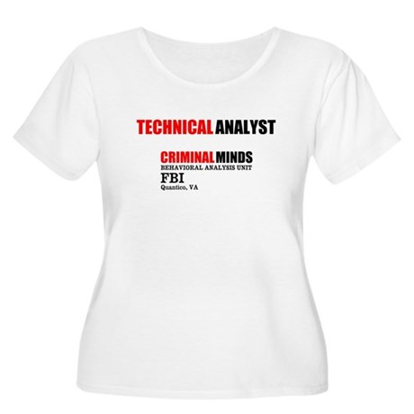 Technical Analyst Plus Size T-Shirt