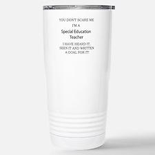 Special Education Teach Stainless Steel Travel Mug
