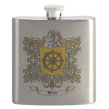 Miller Family Crest 3 Flask