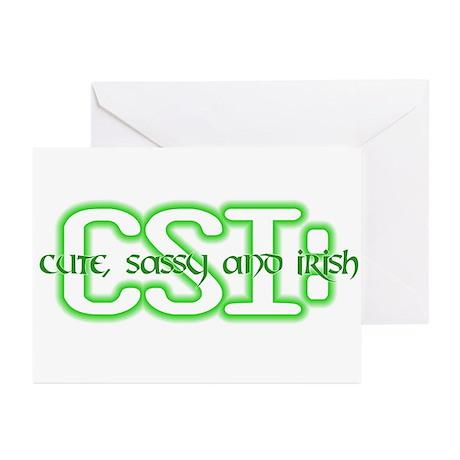 CSI: Irish Greeting Cards (Pk of 10)