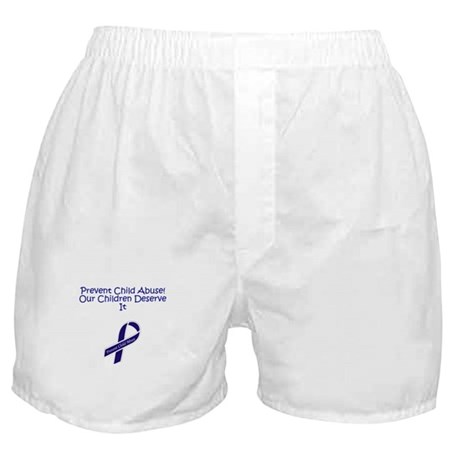 Child Abuse Boxer Shorts