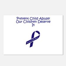 Child Abuse Postcards (Package of 8)