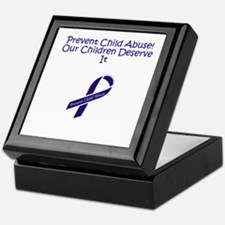 Child Abuse Keepsake Box