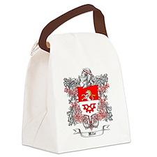 Miller Family Crest 5 Canvas Lunch Bag