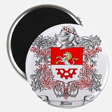 Miller Family Crest 5 Magnet
