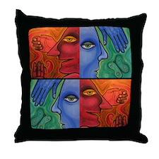 Dr. Jekyll & Mr. Hyde Throw Pillow