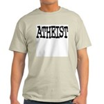 Atheist T-Shirt (Grey) M
