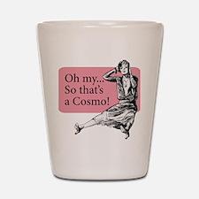 Retro Lady Cosmo - Shot Glass