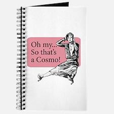 Retro Lady Cosmo - Journal