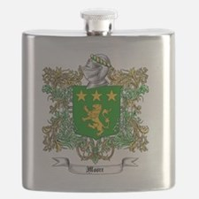 Moore Family Crest 1 Flask