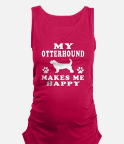 My Old English Sheepdog makes me happy Maternity T