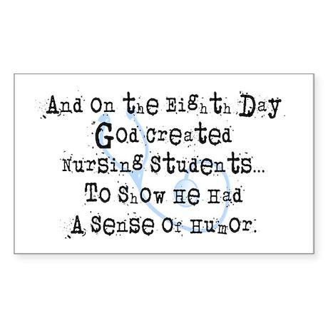 eighth day nursing students Sticker