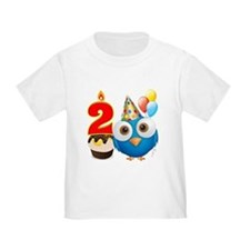 Toddler 2nd Birthday T