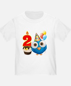 Toddler 2nd Birthday T