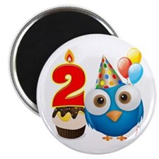 Toddler 2nd Birthday Magnet