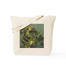 Van Gogh Basket of Pansies Tote Bag