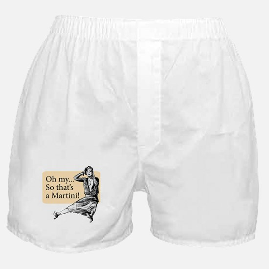 Retro Lady Cosmo - Boxer Shorts