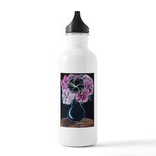 Karens Flowers Water Bottle