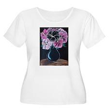 Karens Flowers Plus Size T-Shirt