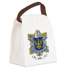 Sanchez Family Crest Canvas Lunch Bag