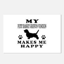My Petit Basset Griffon Vendeen makes me happy Pos